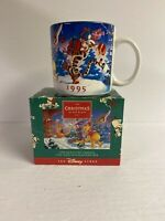 NEW Vintage  Disney Mickey 1995 Christmas At Our House Mug New in Box