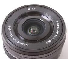 Sony SELP1650 16-50mm F/3.5-5.6 OSS Lens Black - Bulk package