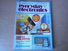 Everyday Electronics Vintage July 1974