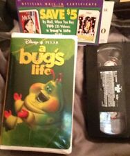 Disney Pixar A Bug's Life (VHS Heimlich Cover) (Only viewed Once) Free Ship