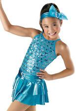 "NEW Weissman ""Young at Heart"" Dance Costume Skate Dress  6083 Child"
