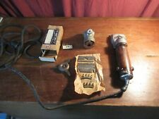 Vintage Stewart ClipMaster Model 51-1 Electric Clippers With Extras Works