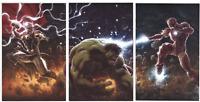 Immortal Hulk 1 Tony Stark 1 Thor 1 Andrews VIRGIN Connecting Cover Set * GEMINI