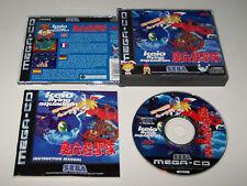 Keio escuadrón de vuelo-Sega Mega CD-Reino Unido PAL-Excelente Estado-en Caja Y Completo