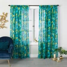 "Target Opalhouse Bluff Green Indochic Floral Sheer Curtain Panel 54"" x 84"""