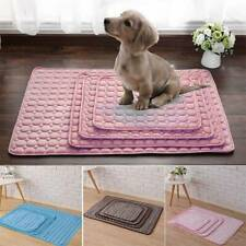 Pet Dogs Cats Puppy Cooling Mat Gel Cool Pad Bed Cushion Hot Summer Heat Relief