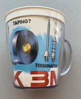 Think 3M Insulated Coffee Mug Cup - Vintage Logo Made In USA Advertising Mint