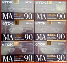 Cassette Tape Blank - 1x (ONE) TDK Ma 90 1990-92 metal Made in Germany