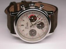 Vintage Primato Valjoux 7736 Chronograph Big Size 38mm Edelstahl revisioniert
