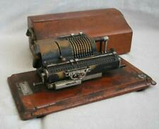 More details for vintage mechanical britannic pinwheel calculator by guy's c1930s