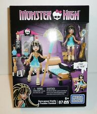 Cleo de Nile Monster High Mega Bloks Set Egypt Egyptian Gore-geous Vanity Figure