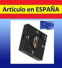 ADAPTADOR señal HDMI 1a3 cable split adap television audio video tv desdoblador