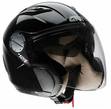 GIVI CASCO JET COMFORT-J X.07 NERO MOTO SCOOTER HELMET BLACK DOPPIA VISIERA