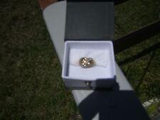PRETTY ESTATE .50 CT DIAMOND 18K YELLOW GOLD RING 5.8 GRAMS SIZE 5.25 SIZEABLE
