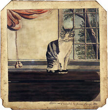 Images of Americana: Tippoo (the Cat), c.1800  - Fine Art Print