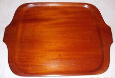 "Large  Wooden Tray 19"" X 14""  Haiti"