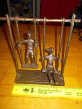 BRONZE SCULPTURE CHILDREN ON A SWING RARE ONLY ONE ON EBAY