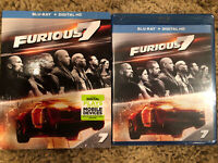 Furious 7 (Blu-ray Disc + Digital 2017) W/ Slipcover Brand New Sealed! Free Ahip