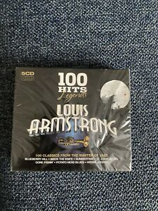 Louis Armstrong 100 Hits - Legends Series (5CD) New Sealed
