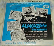 ALAKAZAM THE GREAT! (Les Baxter) rare original mono lp (1960)