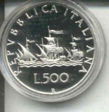500 LIRE ARGENTO 1970 - DA SERIE SIGILLATA -