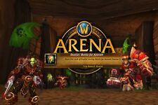 World of Warcraft Arena Boost für Krieger | Mönch - PvP Wertung 2100 2vs2 WoW