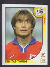 Panini - Korea Japan 2002 World Cup - # 244 Kim Tae-Young - South Korea