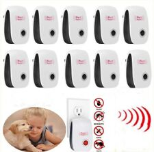 Lot Electronic Ultrasonic Pest Reject Mosquito Rodent Insect Rat Killer Repeller