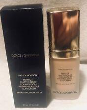 Dolce Gabbana The foundation Perfect Matte Liquid Foundation  NATURAL BEIGE 120