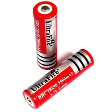 8 x ULTRA FIRE 5800 mAh Lithium Ionen Akku 3,7 V BRC 18650 Li  - ion 18 x 66 mm