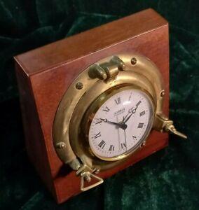 Vintage Porthole Desk Clock