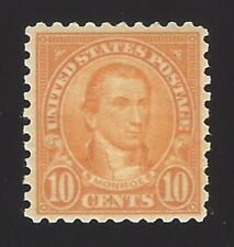US #562 1922-25 Orange Unwmk Perf 11 MNH VF Scv $34