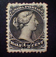 *Kengo* Canada stamp #21 Large Queen VF used CV$100 @251