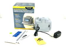 Pyramid 3500 Multi Purpose Employee Time Clock Document Stamp With Key