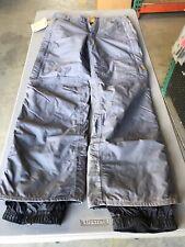 BURTON Womens Size M grey Formula Snowboard Ski Pants Cargo Pockets  4b