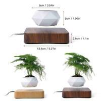 (USA SHIP) Levitating Air Bonsai Pot  Rotation Flower Planter Suspension Floatin