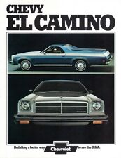 1973 Chevrolet EL CAMINO Luxury Pickup Truck Brochure - Original NEW OLD STOCK