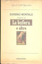 Montale: La bufera ed altro 1957