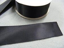Ribbon Satin Black  - 38mm x 22 mts