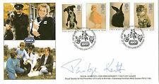 23 janvier 1990 RSPCA Official first day cover signé Penelope Keith SHS