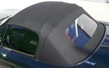 Mazda MX5 Cappotta Tessuto nero riscaldato Lunotto posteriore inclusa Grondaia