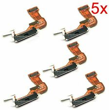 5x Charging Dock Port Connector Flex Cable for Apple Iphone 3GS 3S Charger b60