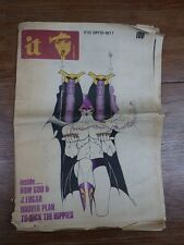 INTERNATIONAL TIMES Revue POP CULTURE UNDERGROUND / IT Nr 113 October 1971 Rare