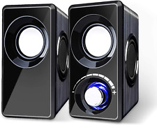 Computer Speakers With Subwoofer Built-in 6 Loudspeaker Diaphragm High Sound NEW