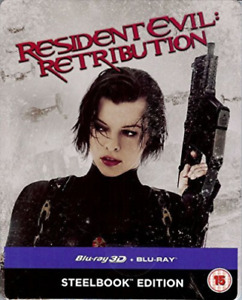 Resident Evil: Retribution BLU-RAY NEW