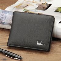 Front Pocket Wallet RFID Blocking Genuine Leather  Credit Card Holder Money Clip