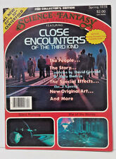 1978 Science Fantasy Film Classic Magazine #2- Close Encounters/War of Worlds