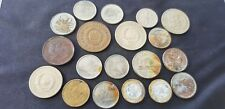 Nice lot of foreign and colony coins and two tokens as photos. L96s