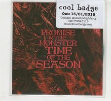 (HD402) Promise & The Monster, Time Of The Season - 2016 DJ CD