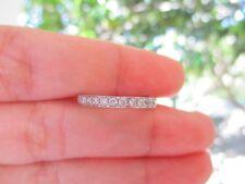 .42 Carat Diamond White Gold Half Eternity Ring 14k sepvergara
